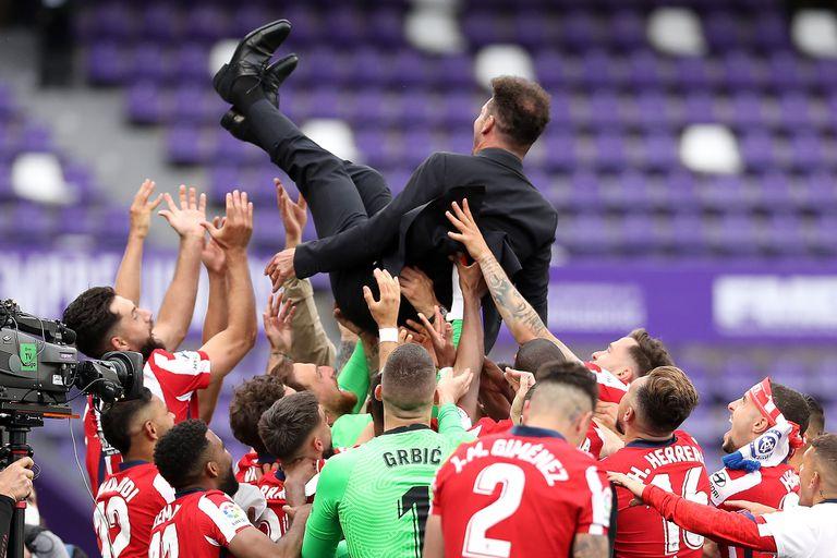 El Atlético ganó el campeonato de Liga por undécima vez en la historia