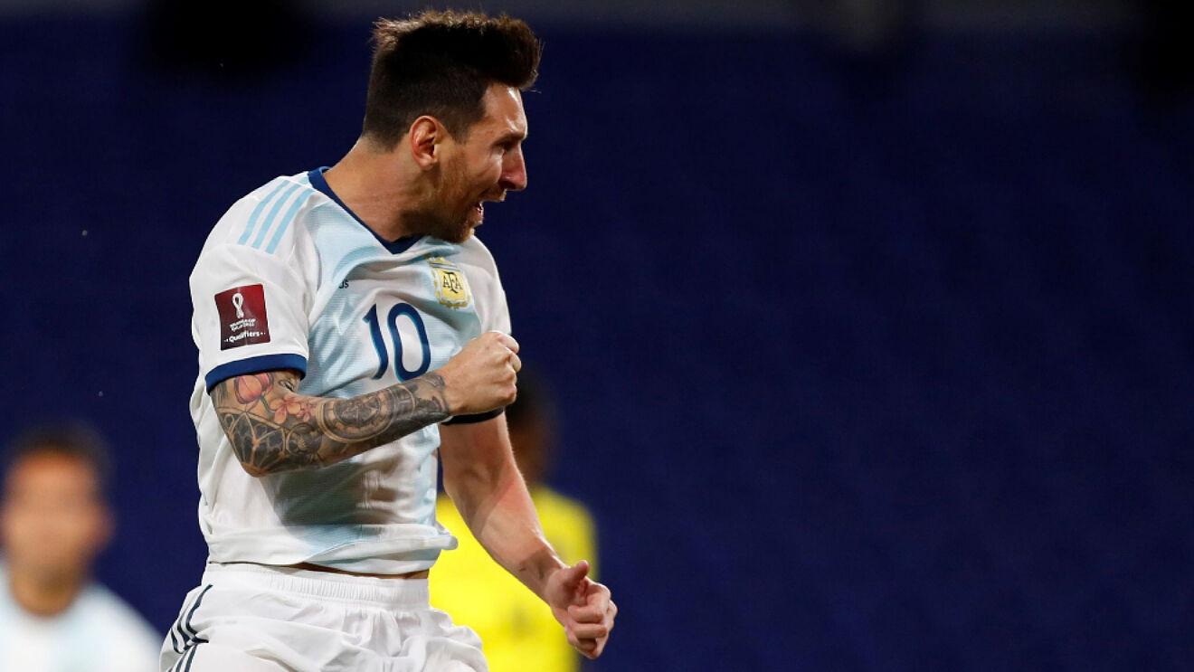 Messi: «Estoy muy feliz de volver a jugar en la selección»